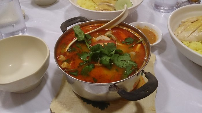 冬蔭功海鮮湯