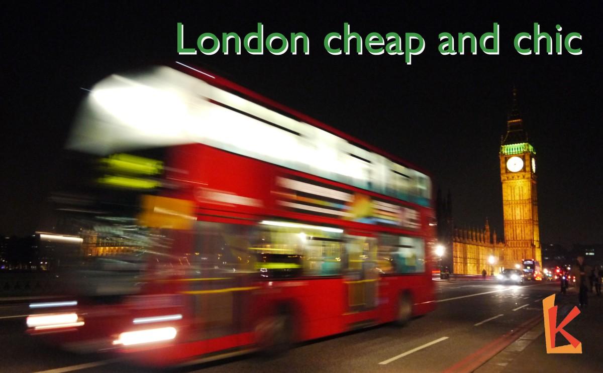 [倫敦] 五招教你窮遊倫敦而不失霸氣!