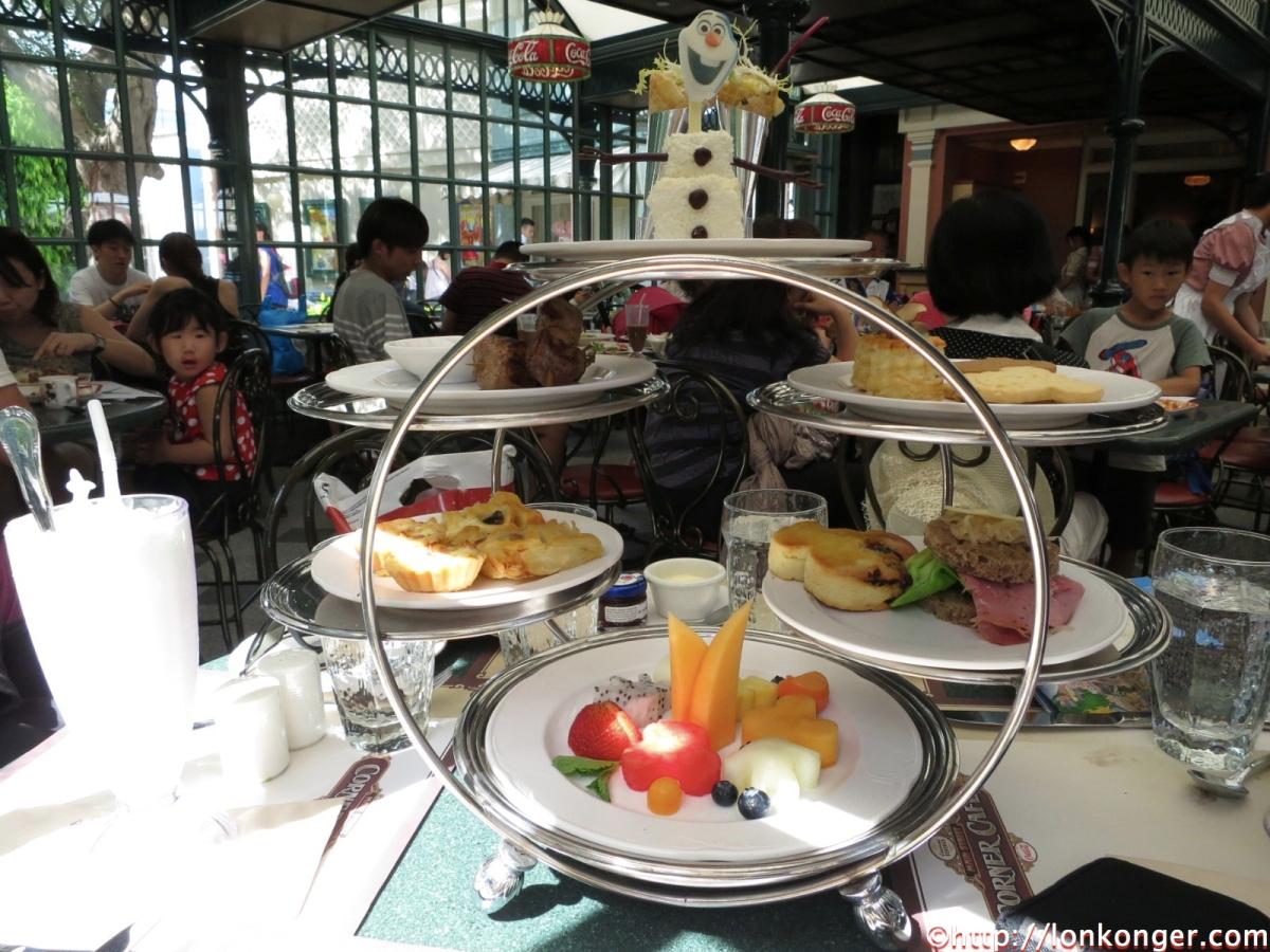 [香港] 奇幻迪士尼下午茶 @ 大街餐廳