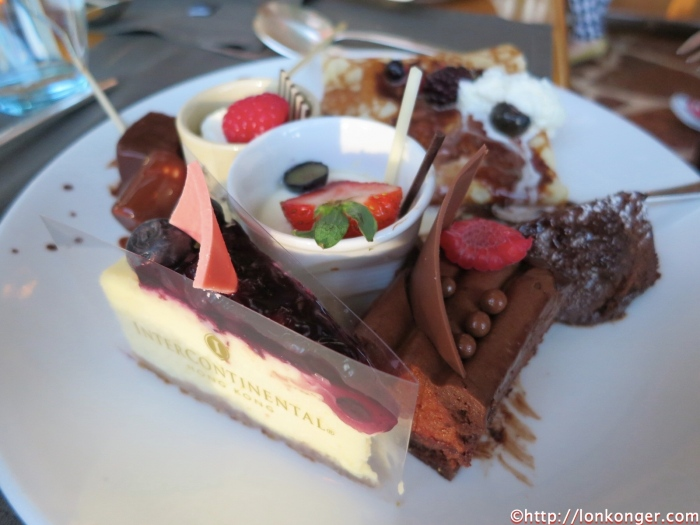 Chocolate selection and the Cheesecake