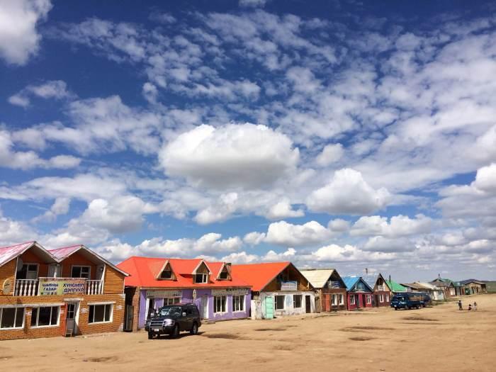 蒙古的房屋