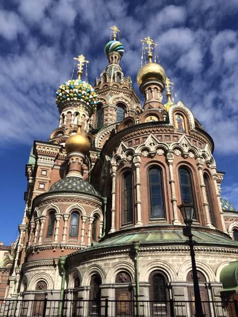 聖彼得堡主要景點: 基督喋血大教堂 Church of the Savior on Blood