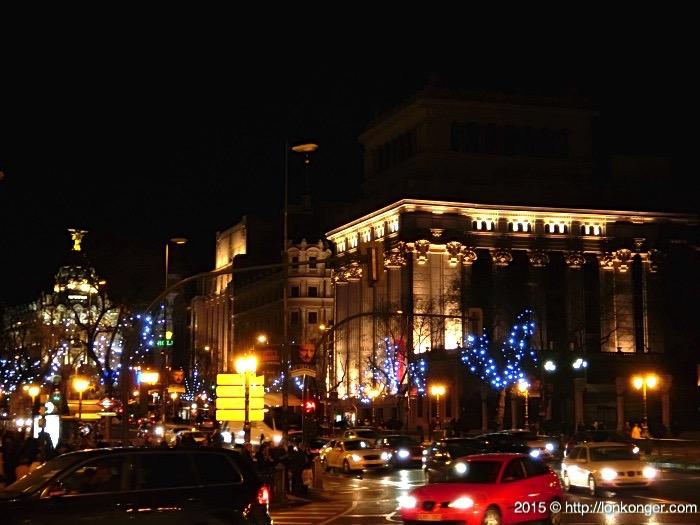 Plaza de Cibeles (night)