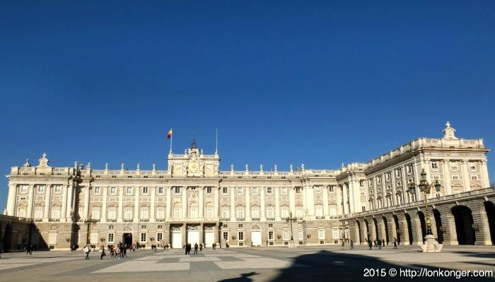 西班牙皇帝的皇宮 Royal Palace of Madrid