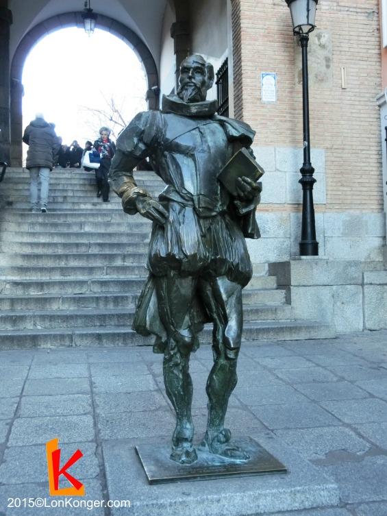 唐吉訶德雕像