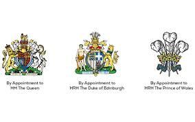 皇室成員各有自己的徽章