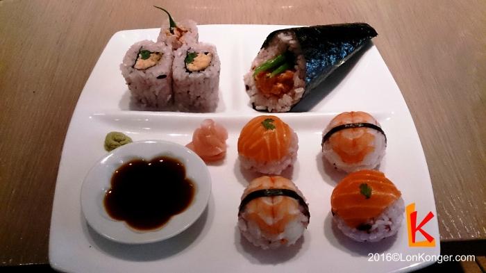 壽司拼盤 (Sushi Set - £12.95)
