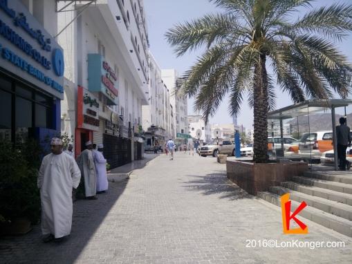 Muscat街景